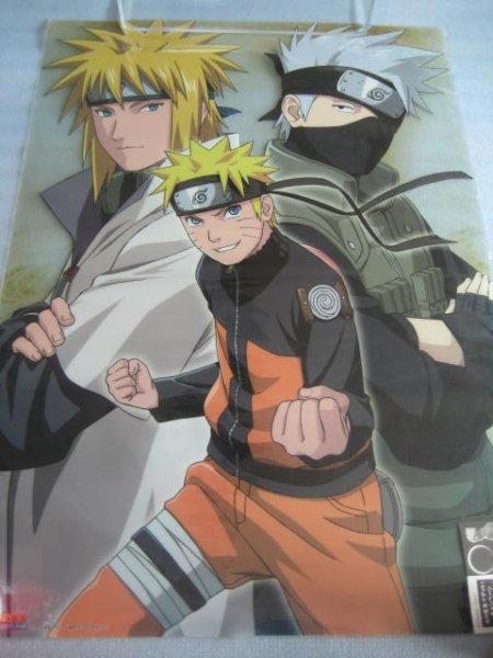 画像1: ナルト[クリアポスターA2サイズ]Naruto [Clear poster A 2 size] (1)